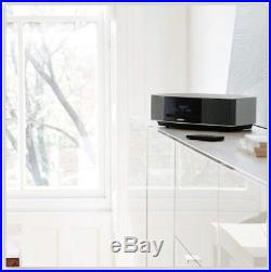 Bose Wave Music System IV with Remote, CD Player and AM/FM Radio Black or Silver