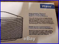 Bose Wave Music System IV with Remote, CD Player and AM/FM Radio Sealed Box