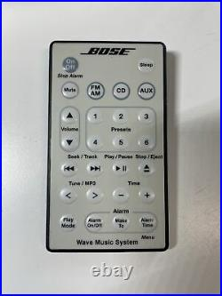 Bose Wave Music System Model AWRCC2 Radio CD Player withRemote-Excellent Condition