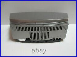 Bose Wave Music System RADIO/CD silver with remote work great