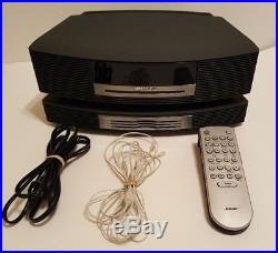 Bose Wave Music System Radio with CD Player 3CD Changer, Remote