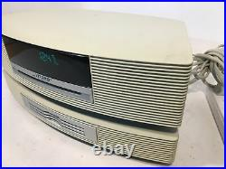 Bose Wave Music System with 3 CD Changer CD Player/ AM-FM Radio / No Remote