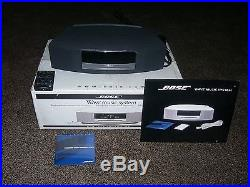 Bose Wave Music System with Remote, CD Player and AM/FM Radio Black