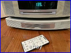 Bose Wave Radio & 3 Disc Changer-sounds Amazing-beige-cd Player Works Through Ch