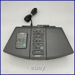 Bose Wave Radio AWR1G1 AM/FM Stereo/ Alarm Clock Black With Remote TESTED