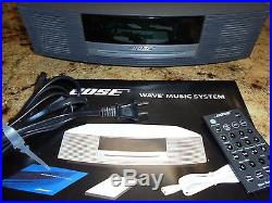 Bose Wave Radio AWRCC1 CD/MP3 withowners guide & remote. XLT COND