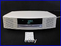 Bose Wave Radio AWRCC2 White Music Stereo System CD II Player with Remote Control