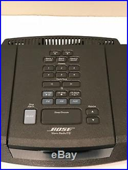 Bose Wave Radio Awrc1g CD Player Am/fm Stereo With Remote And Manualexcellent