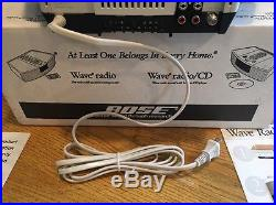 Bose Wave Radio/CD AWRC-1P FM/AM Radio/AUX/LINE OUT BRAND NEW NEVER USED