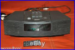 Bose Wave Radio CD Model Awrc3g, Perfect With Remote Control, Made In Ireland