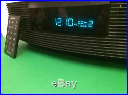 Bose Wave Radio / CD Player AWRC1G + Remote + Iphone/Ipod cable + Demo Disc