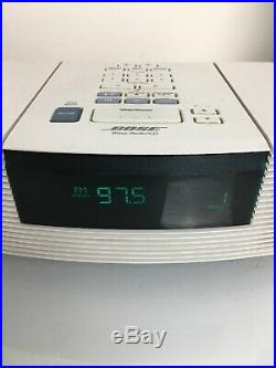 Bose Wave Radio & CD Player AWRC1P NO Remote White Tested Works Perfectly