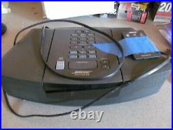 Bose Wave Radio CD Player Alarm Clock AWRC-1G Tested And Working with Remote