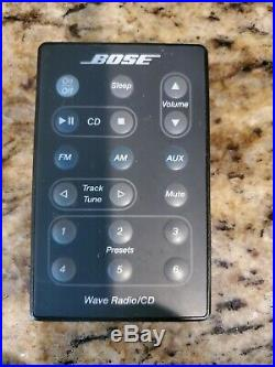 Bose Wave Radio CD Player Stereo Alarm Clock With Remote AWRC1G Fast Shipping