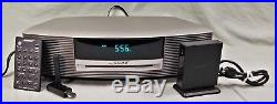Bose Wave Radio III Music System with Remote, SounkLink Bluetooth adapter & AC Crd