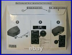 Bose Wave Radio III Touch Top AM/FM AUX Alarm /Remote / Power Cord / MINT