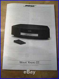 bose wave radio iii touch pad with remote owner manual works rh bosewaveradio xyz bose wave radio ii manual in english bose wave radio 3 owners manual