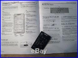 Bose Wave Radio III touch pad with remote & owner manual-works