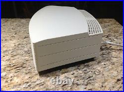 Bose Wave Radio II FM/AM Radio with New Remote White Tested Works