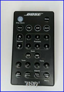 Bose Wave Radio II, Graphite Grey, Fully Functional with Remote + Manual