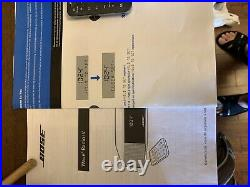 Bose Wave Radio IV 417788-WR Platinum Silver With Remote & Manuals