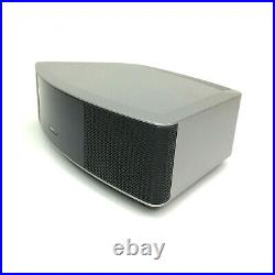 Bose Wave Radio IV 417788-WR Platinum Silver with 2 Remotes & Manuals. Nice