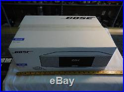 Bose Wave Radio IV Platinum Silver-NEW NEVER OPENED IN THE BOX