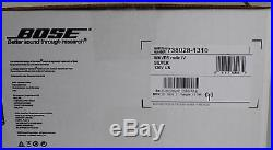 Bose Wave Radio IV with Remote Control Platinum Silver New Open Box