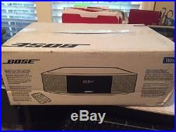 Bose Wave Radio IV with Remote Silver Brand New In Box (never used)