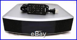 Bose Wave Radio IV with Remote (Silver) Waveguide Speaker Technology 738028-1310
