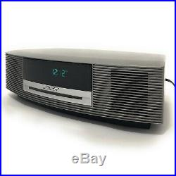 Bose Wave Radio Music System III AM FM Alarm Clock CD Player with Remote