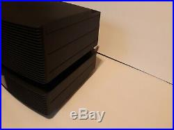 Bose Wave Radio Music System III Multi-CD Changer with Dock & 2 Remotes