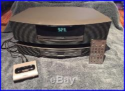 Bose Wave Radio System AWRCC1 with3 Disc Changer, Remote & iPod Connect Kit
