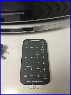 Bose Wave SoundTouch IV Bluetooth Speaker Radio FM/AM CD Player Remote