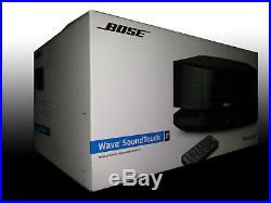 Bose Wave SoundTouch Music System IV Espresso Black New Sealed! Free Shipping