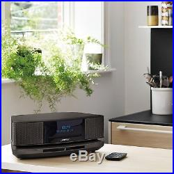 Bose Wave SoundTouch Music System IV Remote, CD Player/Radio Espresso Black