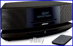 Bose Wave SoundTouch music system IV Black Wireless Streaming