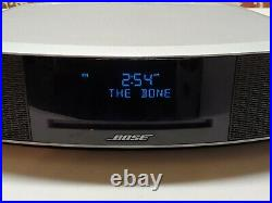 Bose Wave Wave Music System IV Silver With Remote Tested Read CD Radio AUX