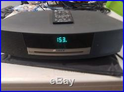 Bose Wave music System AWRCC1 CD Player Radio with Remote color is Graphite Gray