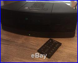 Bose wave music system radio AM/FM And CD Player And Includes AWACCQ Pedestal