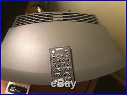 Bose wave radio 3 cd player An Disc Player Also iPod Dock With 2 Remote
