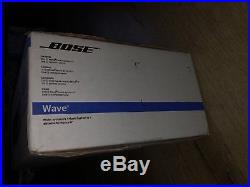 Brand New BOSE WAVE RADIO IV SEALED AM/FM AUX WITH REMOTE