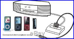 Connect Adapter for Bose Wave Radio lll iPod Dock to MP3 Smart Phone Audio Input