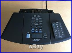 EXCLNT! Bose Wave Radio / CD AWRC-1G AM/FM Clock Dual Alarm RCA Audio-In/Out