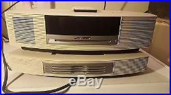 EXEL CND! BOSE Wave Radio CD Player withMulti-CD Changer Accessory & Remote White