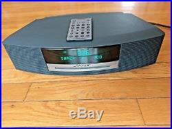 MINT Bose Wave AWRCC1 Graphite Music System Radio CD Player with Remote