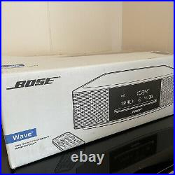 NEW BOSE Wave Music System IV with Remote And Manual AM/FM Radio + CD Player