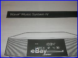 NEW Bose Wave SoundTouch Music System IV Stereo Espresso Black