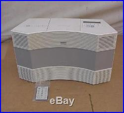 NICE BOSE ACOUSTIC WAVE MUSIC SYSTEM CD PLAYER AM/ FM RADIO MODEL CD-3000