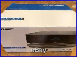 New Bose Wave SoundTouch Music System IV CD Player Radio Platinum Silver